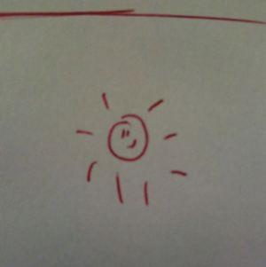 334. Für jemanden der Sonnenschein sein.